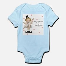 Unique First new year Infant Bodysuit
