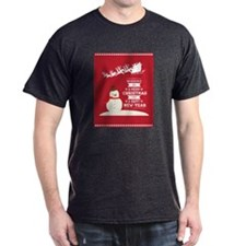 Merry Christmas Happy New Year T-Shirt