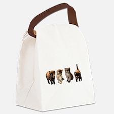 Kitten Canvas Lunch Bag