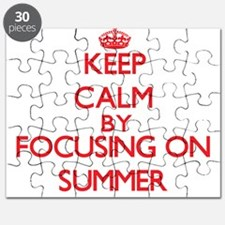 Keep Calm by focusing on Summer Puzzle