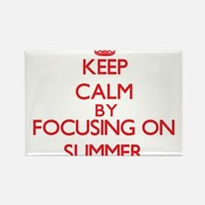 Keep Calm by focusing on Summer Magnets