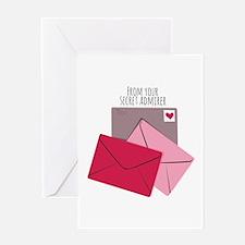 Secret Admirer Greeting Cards