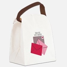 Secret Admirer Canvas Lunch Bag