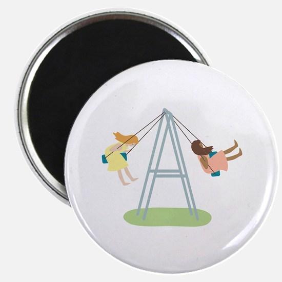 Kids Playground Swing Set Magnets