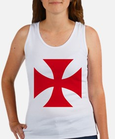 Templar Cross Tank Top