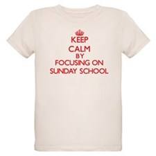 Keep Calm by focusing on Sunday School T-Shirt