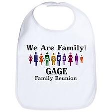 GAGE reunion (we are family) Bib