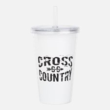 Cross Country Acrylic Double-Wall Tumbler