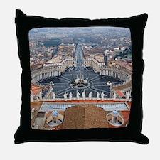 St. Peter's Basilica Throw Pillow