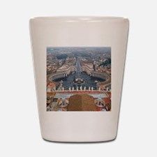 St. Peter's Basilica Shot Glass