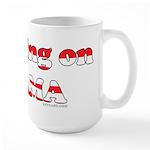 Crushing on Obama Large Mug