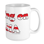 Crushing on Obama Large Mug