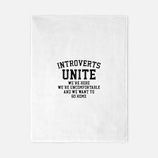 Introverts Unite Twin Duvet