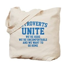 Introverts Unite Tote Bag