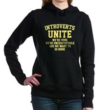 Introverts Unite Hooded Sweatshirt