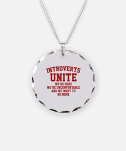 Introverts Unite Necklace