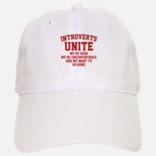 Introverts Unite Baseball Baseball Cap