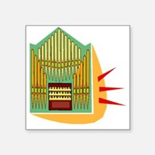 Pipe Organ Sticker