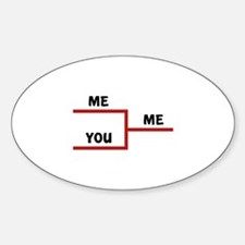 Me VS You Decal