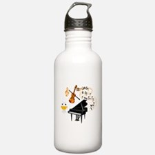 Musical Instruments Water Bottle