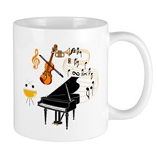 Musical Instruments Mugs