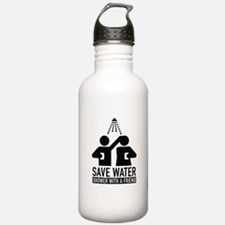 Save Water Shower With A Friend Water Bottle