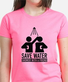 Save Water Shower With A Friend Tee