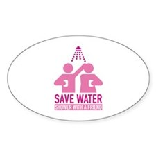Save Water Shower With A Friend Decal