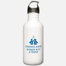 Conserve Water Shower With A Friend Water Bottle