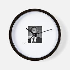 Cute Obama history Wall Clock