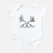 Bowhunter buck 14 Infant Bodysuit