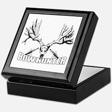 Bowhunter buck 14 Keepsake Box
