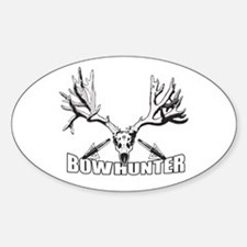 Bowhunter buck 14 Decal