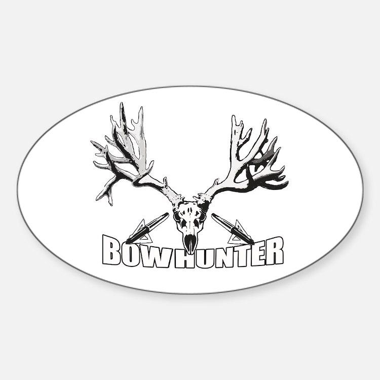 Bowhunter buck 14 Decal