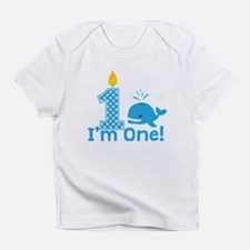 First Birthday Whale Infant T-Shirt