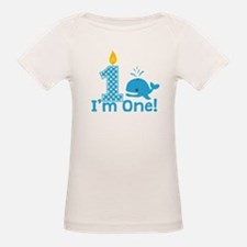 First Birthday Whale T-Shirt