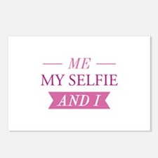 Me My Selfie And I Postcards (Package of 8)