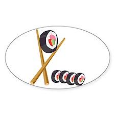 Sushi Rolls Decal