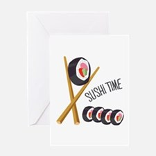 Sushi Time Greeting Cards
