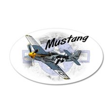 P51 Mustang Wall Decal