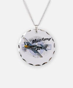 P51 Mustang Necklace
