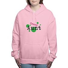 Crazy Aunt Women's Hooded Sweatshirt