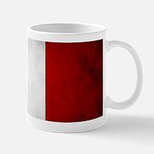 Grunge French Flag Mugs