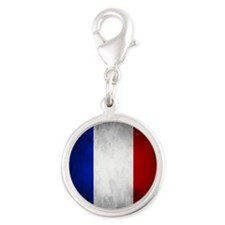 Grunge French Flag Charms