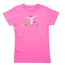 Cute Gymnast Girl's Tee