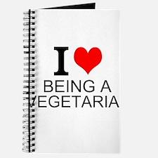 I Love Being A Vegetarian Journal