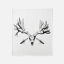 Broad head buck 214 Throw Blanket
