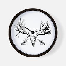 Broad head buck 214 Wall Clock
