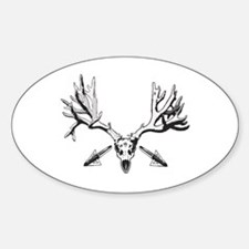 Broad head buck 214 Decal
