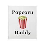 Popcorn Daddy Throw Blanket